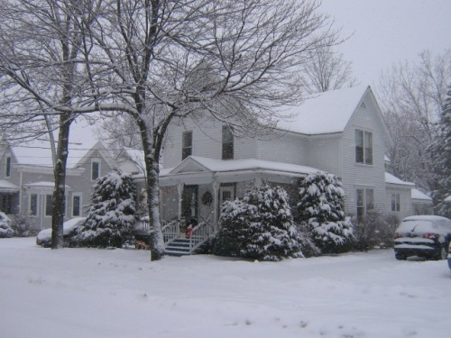 My neighbors nice house