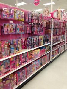pink aisle