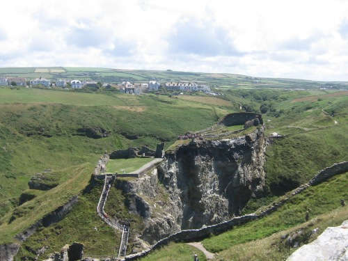 the ruins of Tintagel