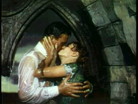 "John Wayne and Maureen O'Hara in ""The Quiet Man"""
