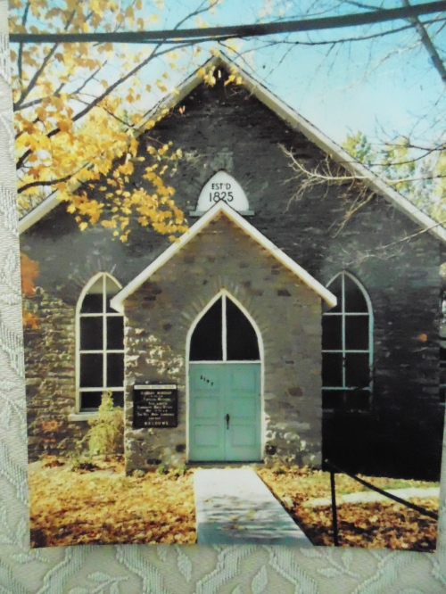 The Clarence Baptist church in 1991