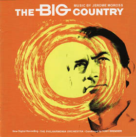 Jerome Moross - The Big Country - Front