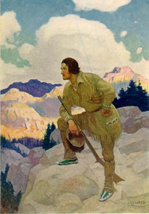 Francis Parkman by N.C. Wyeth