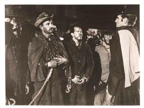 "Richard Harris and Charlton Heston in ""Major Dundee"" (1965)"