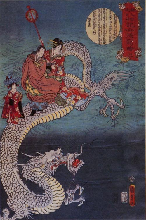 Kunisada dragon