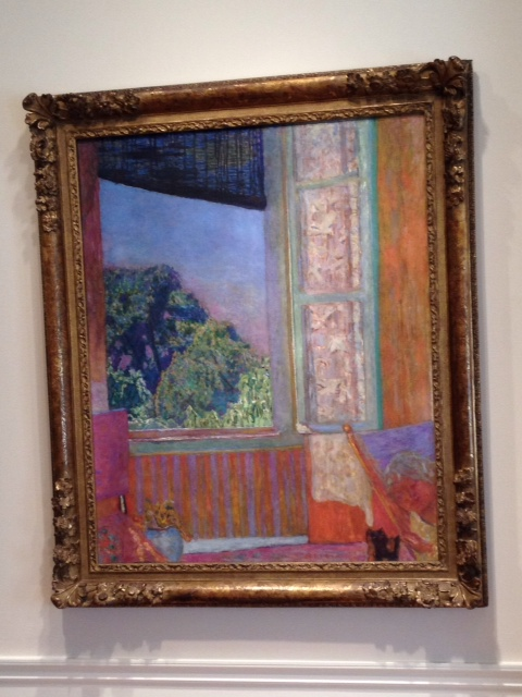'The Open Window' by Pierre Bonnard (1867-1947), The Phillips Collection