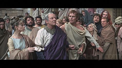 with John Gielgud as Caesar