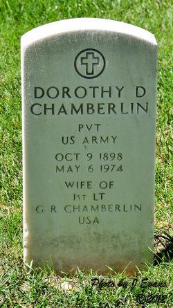 Dorothy D. tombstone