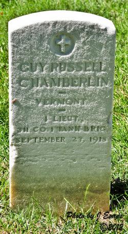 Guy R. tombstone