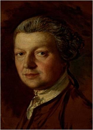 Gainsborough's portrait of Kirby