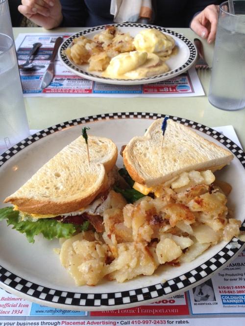 Mmmm--diner food
