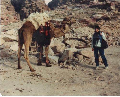 sarah and camel