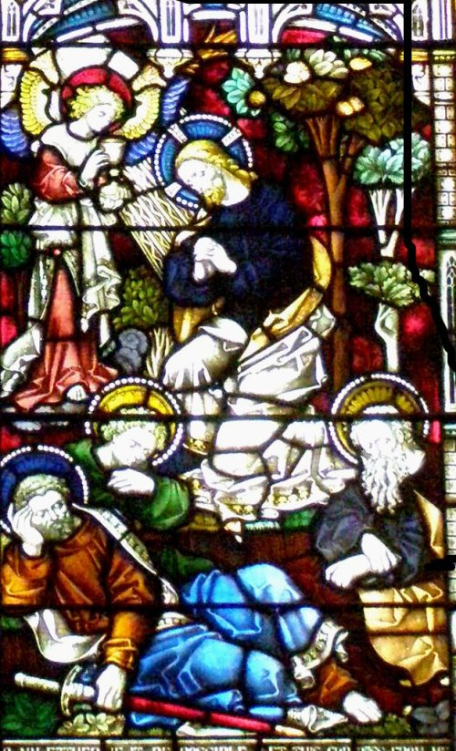Window in Christ Episcopal Church, Poughkeepsie, NY