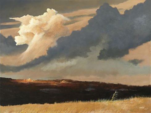 Prairie Thunderhead by J. Douglas Thompson