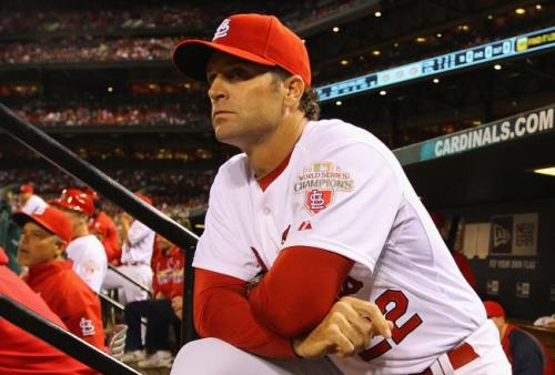 sports_mike_matheny_st.louis_cardinals_dugout