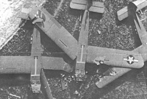 many gliders had bad landings
