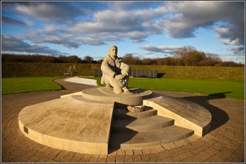 Battle of Britain Memorial in Kent, England