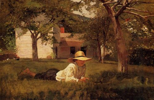"Winslow Homer's ""The Nooning"""