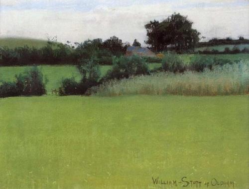 """""""Barrow Farm"""" by William Stott of Oldham (1857--1900)"""