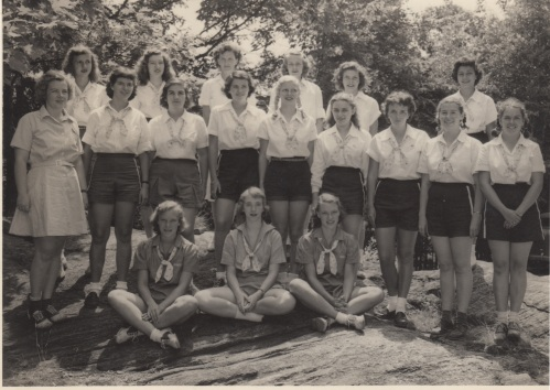 MCC girl scout camp
