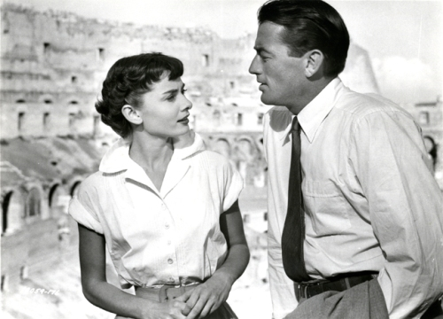 """William Wyler's """"Roman Holiday"""" (1951) with Gregory Peck"""