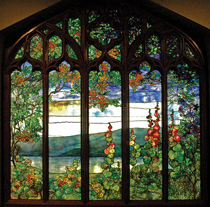 1907 window by Tiffany Studios