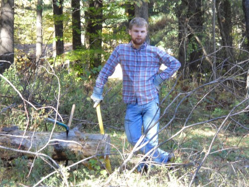 He's a lumberjack and he's okay