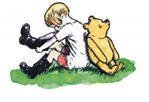 Mottisfont - Winnie the Pooh, -® The E.H.Shepard Trust reproduced with permission of Curtis Brown Group