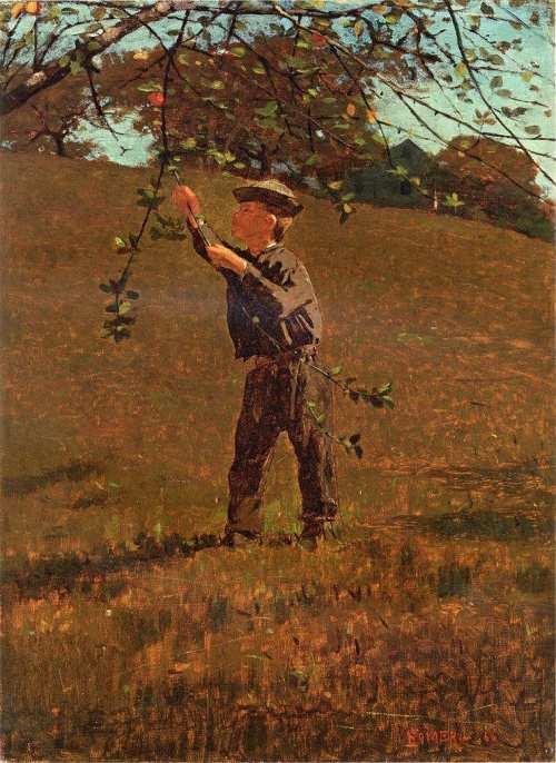 """Winslow Homer """"Green Apples"""""""