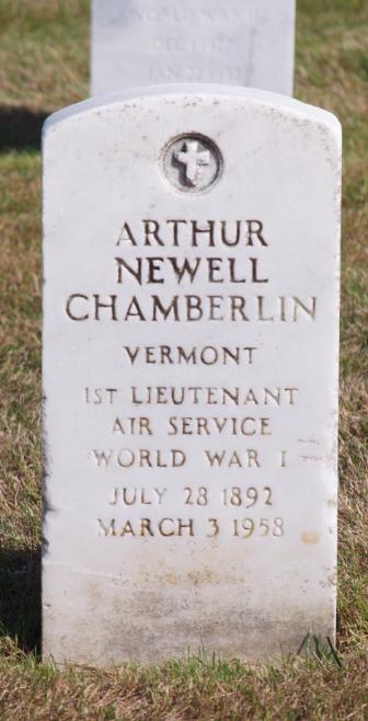 Arthur Newell Chamberlin grave