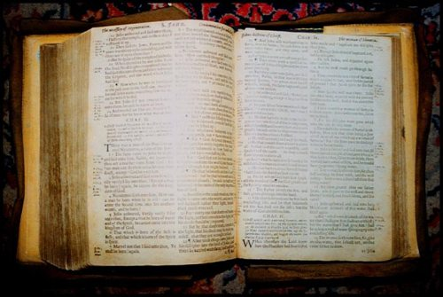 Simeon's preaching Bible