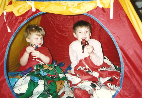 we still have those sleeping bags