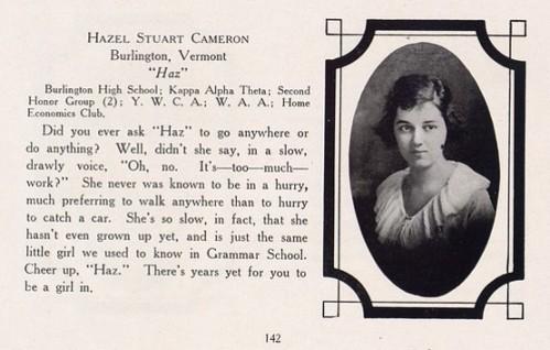 Hazel senior page