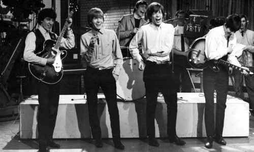 the Rolling Stones  on Ready, Steady, Go! in 1965