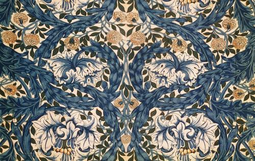 african-marigold-design-william-morris