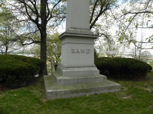 A familiar name--our Rand obelisk is in New Hampshire