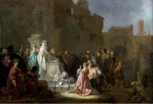 """Willem de Poorter's """"St. Paul and Barnabas in Lystra"""""""