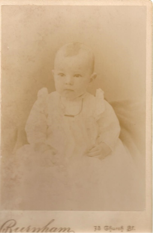 Arthur Newell i baby pic