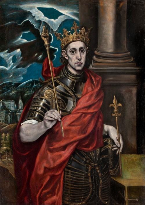 Louis IX by El Greco