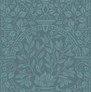 william morris garden craft blue