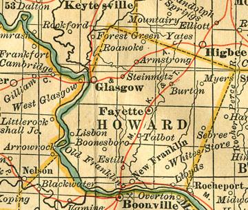 Howard-County-Missouri-map