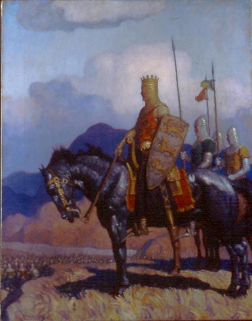 N.C. Wyeth, King Edward