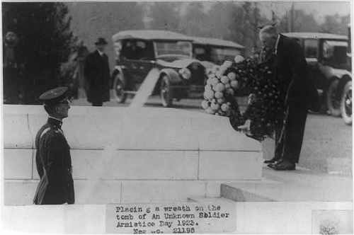 Harding_Tomb_of_Unknowns_1923