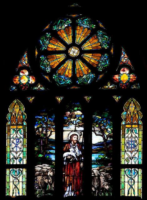 Tiffany window 1st Baptist Church, Selma, Alabama