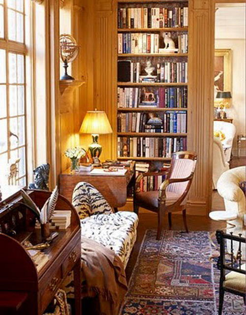 beautiful-home-library-designs-traditional-decor