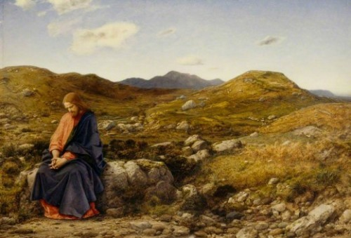 """Man of Sorrows"" by William Dyce (1806--1864)"