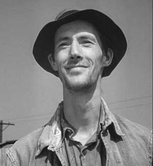 As Casey in The Grapes of Wrath