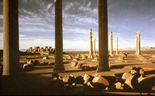 Ruins of the Persian Palace at Persepolis