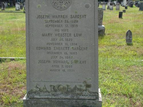 sargent headstone