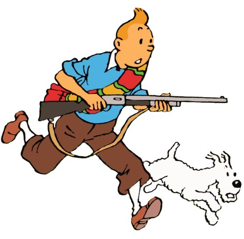Tintin_with_a_rifle